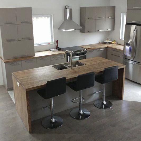 comptoirs de cuisine en bois les planches d couper pic bois. Black Bedroom Furniture Sets. Home Design Ideas